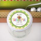 Editable We are Thankful for You Labels Tags for your Kid's Gift Tags or Round Stickers| E239