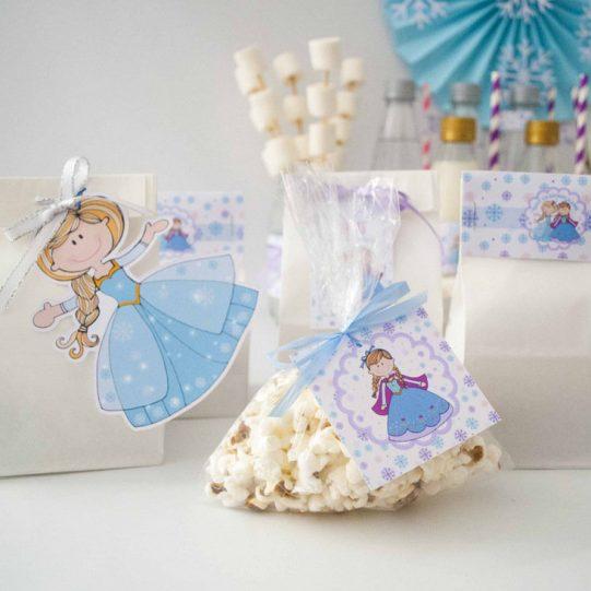 Hand-draw Personalized Printable Frozen Party decor, Custom Winter Frozen Birthday E390