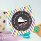 Personalized Printable Roller Skate Tags or Stickers| E209