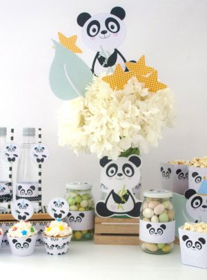 Little Panda Bear Printable Express Set E001