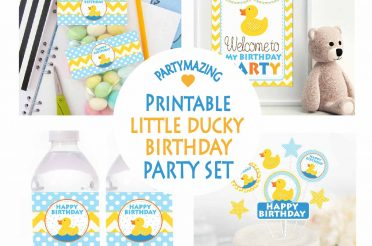 Rubber Duck First Birthday Party Ideas