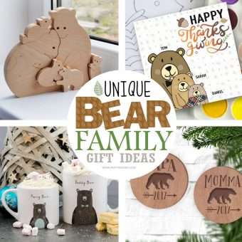 Unique Bear Family Gift Guide from Independent Artists