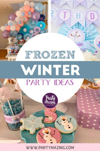 Frozen 5th Birthday Party – Customer Party
