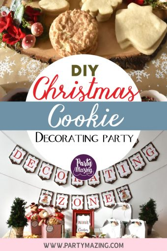 Christmas Cookie Decorating Zone Party Inspiration