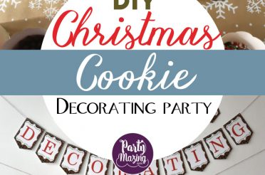 How to Host a Christmas Cookie Decorating Party for kids