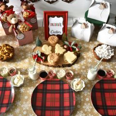 Christmas Cookie Decorating Zone Printable Banner & Table Decor