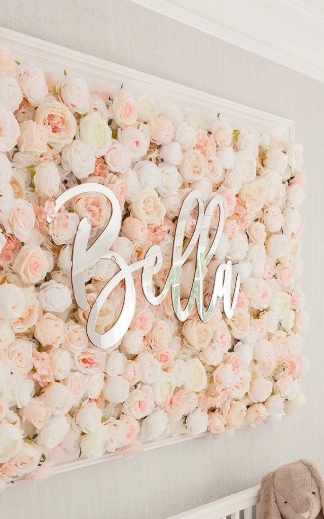 Flower Background ideas. Girl First Communion Party Ideas and Templates to make an amazing Party. Get inspired to create your own unforgettable celebration for your little girl.