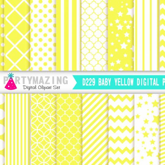 D229-Baby-yellow-digital-paper