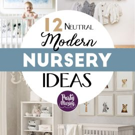 +12 Neutral Modern Nursery Ideas for your Baby Room - Soft Colors, Nursery Ideas and more for the baby room.