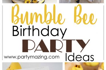 12 Wonderful Bumble Bee Birthday Party Ideas