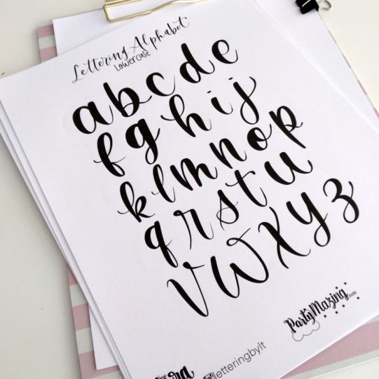 Lettering-Practice-Sheet-and-brush-lettering-tips-3