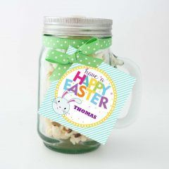 Cute Easter Bunny Tags | Editable Printable Tag for Boys and Girls | E128