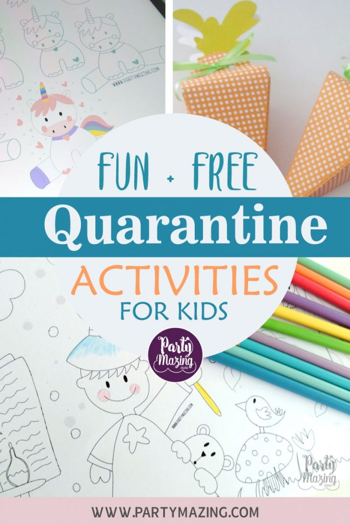 Free + Fun Quarantine Activities for the Kids during Covid19