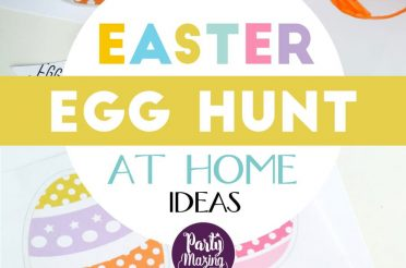 Home Easter Egg Hunt Ideas {with free printable}