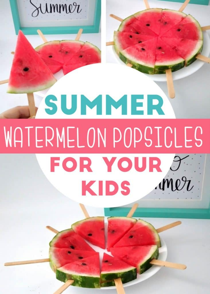 Watermelon Popsicles are a great trick for the kids because you will be reducing the consumption of sugar, it is refreshing and above all very healthy. Create your watermelon Popsicles and they'll be ready in the freezer for the kids.