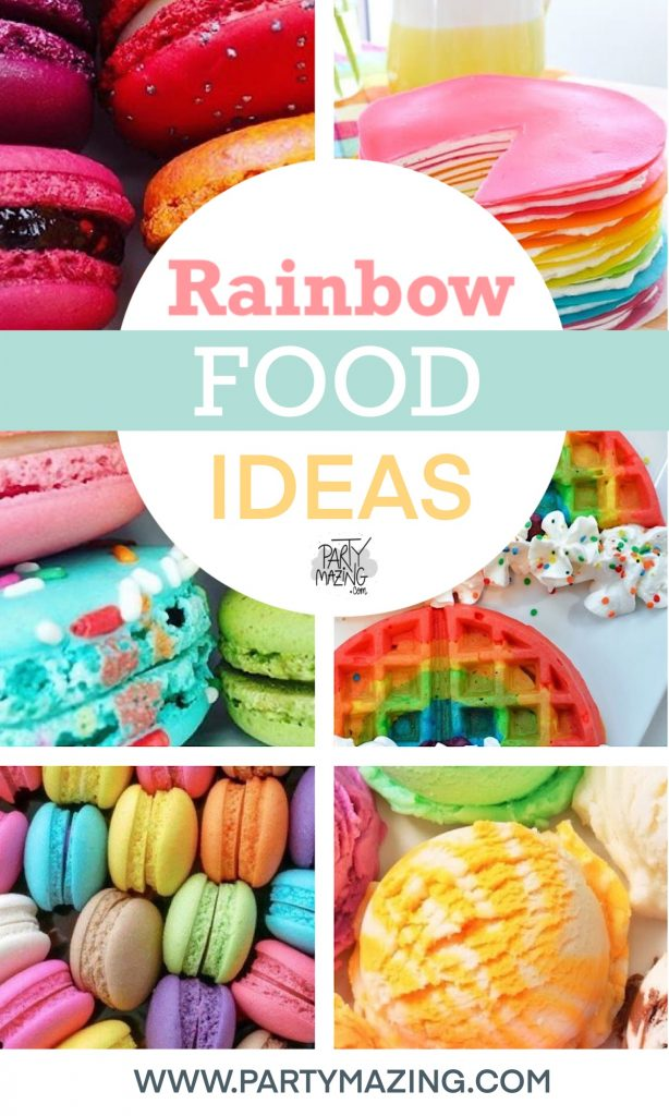 Time to add some color to your table or your kids party. A Rainbow is waiting for you. I curated a list of colorful food to inspire your party.
