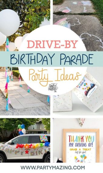 Drive-By Birthday Parade Party Ideas