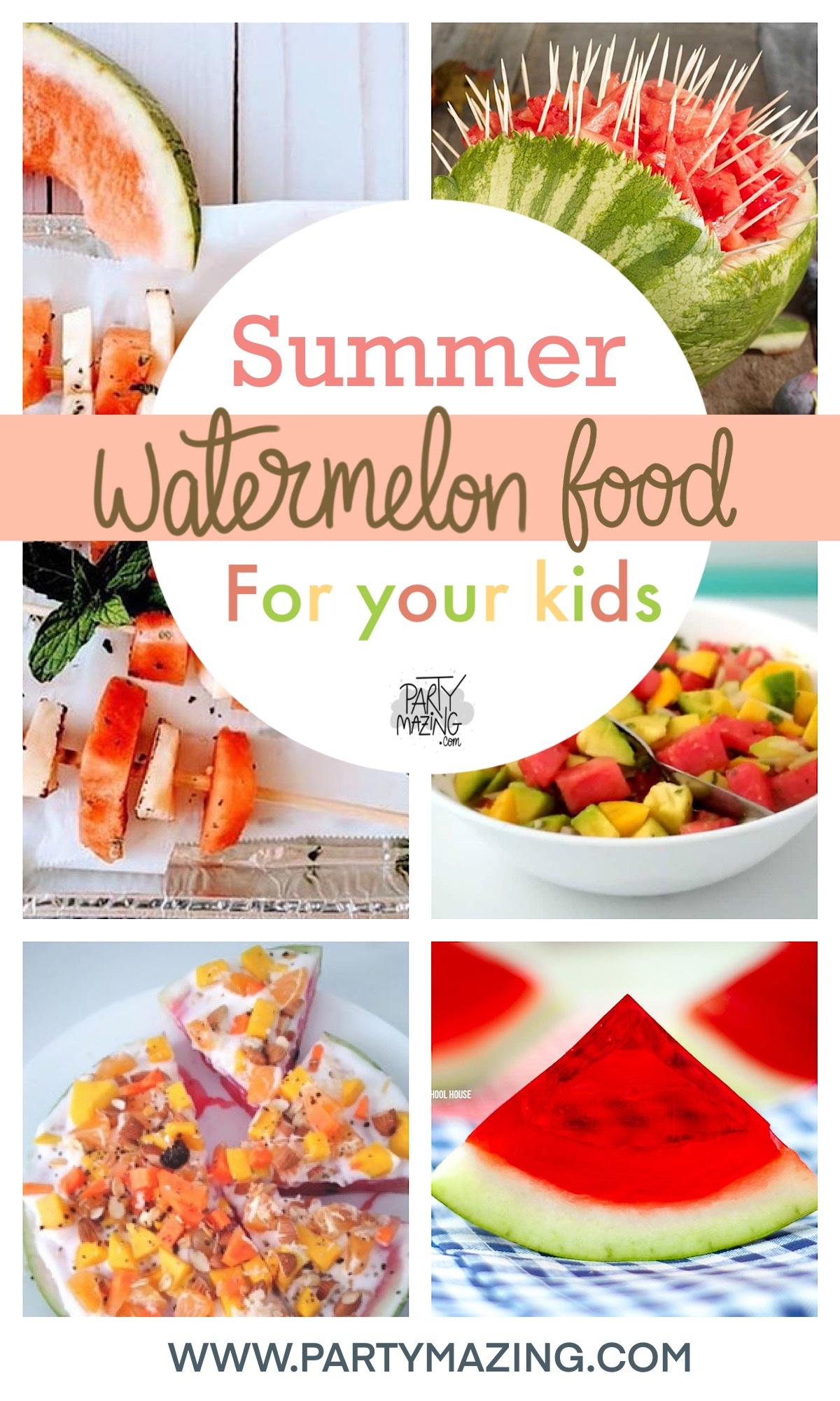 12 Easy Watermelon Summer Food Recipes
