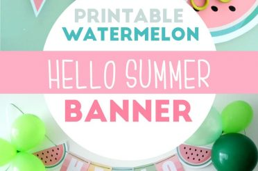 Hello Summer Watermelon Printable Party Set