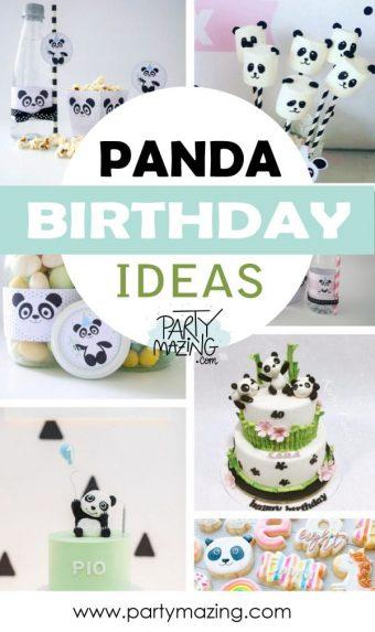 12 Panda Birthday Party ideas
