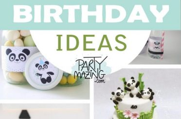 12 Panda Birthday Party ideas