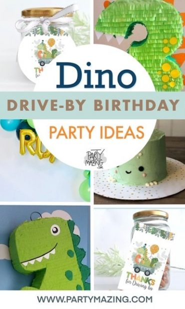 25 Dino Drive-By Birthday Parade Ideas