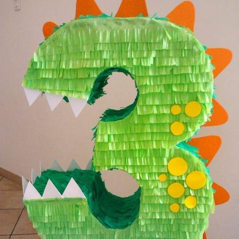 Dino piñata, Time for a new idea for your drive by birthday parade for your kids. Here I bring you some Dino Drive-By Birthday Parade Ideas