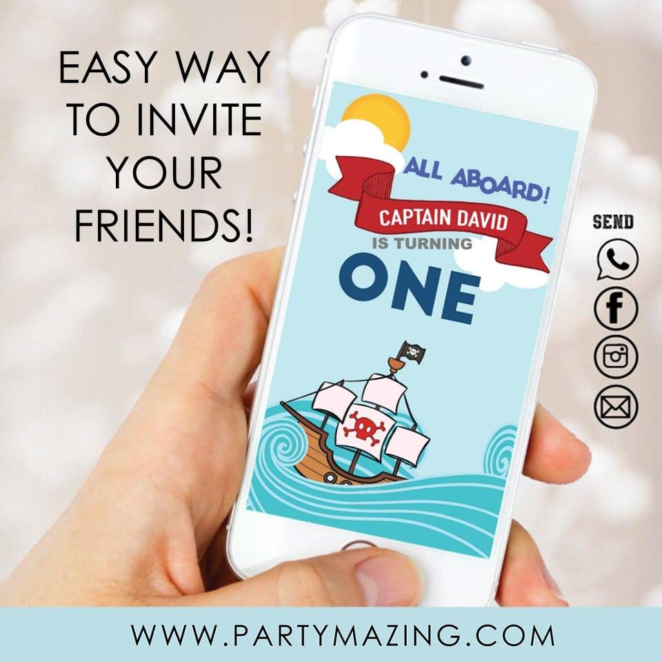 Party Video Invitation promo