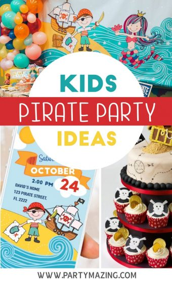 Kids Pirate Party Ideas & Decor your kids will love