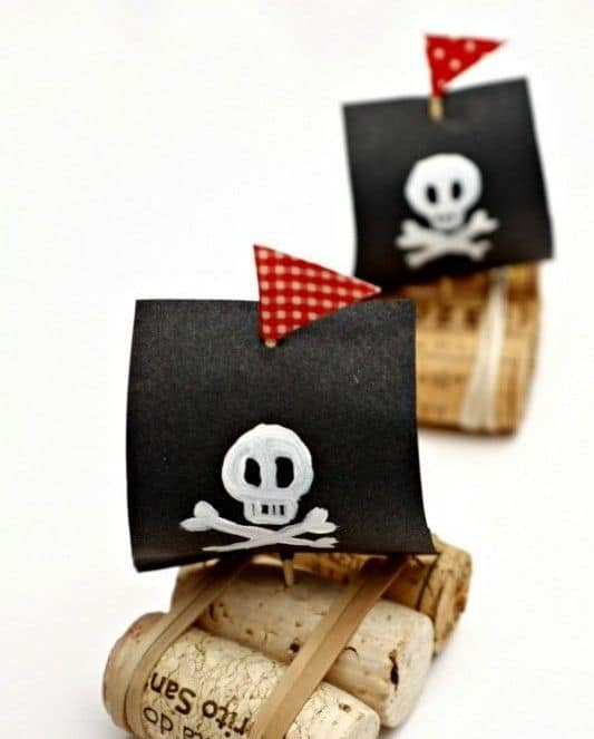 pirate party craft - - Kids Pirate Party Ideas