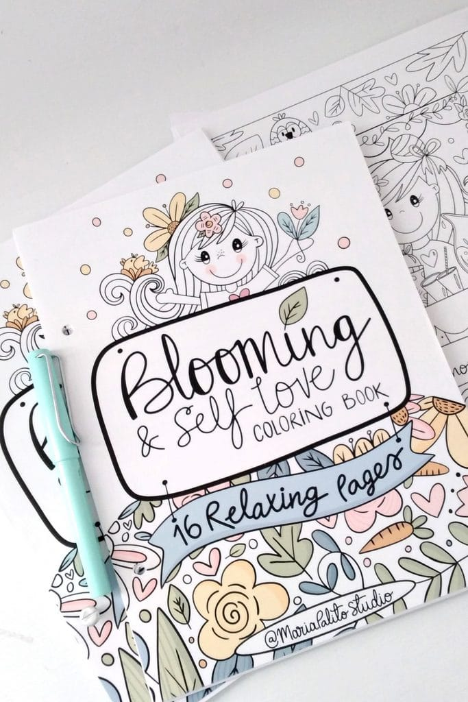ANXIETY RELIEVE COLORING BOOK