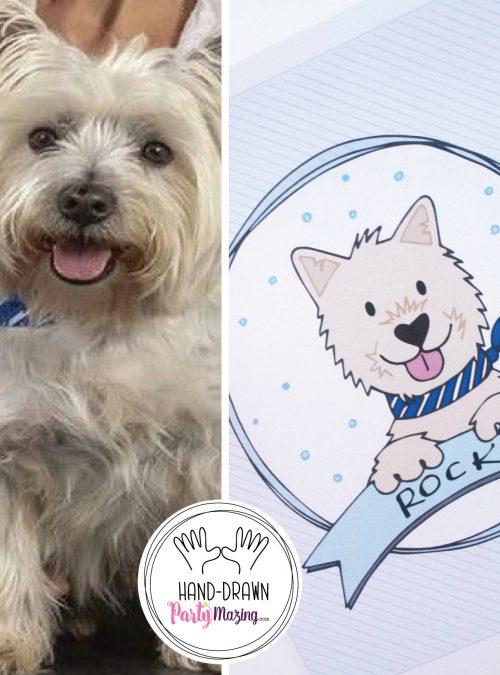 Custom Pet Portait Drawing | Hand-drawn Family Portrait | Petlover Dog or Cat Portrait | Cartoon Style | PK07 | E401