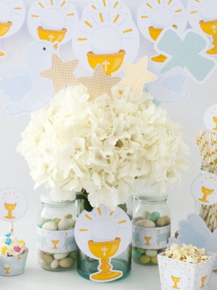 Girl First Communion Party Ideas and Templates to make an amazing Party. Get inspired to create your own unforgettable celebration for your little girl.