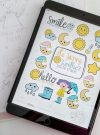 Cute Weather Digital Planner Stickers | +67 Goodnotes Digital Planner Sticker Book | Ipad Planner Cropped Stickers | E532