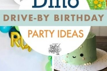 25 Dino Drive-By Birthday Parade Ideas